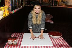 Olivia Holt promotes Disney's 'I Didn't Do It' as she visits Buca di Beppo Times Square on March 8, 2015 in New York City