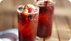 Summer Berry Cocktails