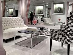 glamorous boutique decor - Google Search