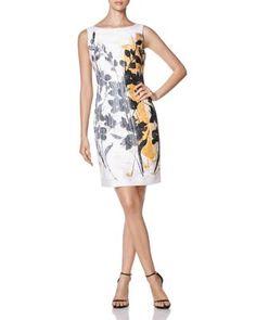 Lafayette 148 New York Faith Floral Sheath Dress | Bloomingdale's