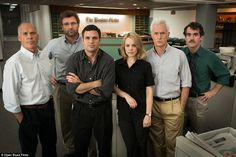 Spotlight won Best Ensemble for its star-studded cast that includes Rachel McAdams, Michae...