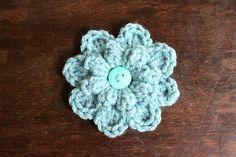 Ravelry: Free Crochet Autumn Berry Flower pattern by Jenny Dickens