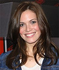 Mandy Moore dark brown this time... pretty