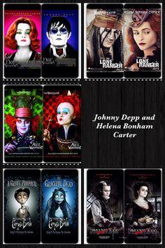 Johnny Depp and Helena Bonham Carter Movies