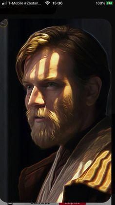 Star Wars Saga, Star Wars Fan Art, Star Wars Clone Wars, Star Trek, Anakin Vs Obi Wan, Ewan Mcgregor Obi Wan, Star Wars Brasil, Star Wars Clones, Cuadros Star Wars