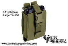 Smartphone Case - 5.11 Tactical C5 Case Smartphone/PDA/GPS Case Pouch