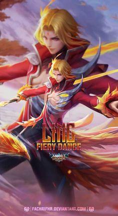 Mobile Legend Wallpaper, Hero Wallpaper, Iphone Wallpaper, Mobiles, Flame Picture, Miya Mobile Legends, Alucard Mobile Legends, Legend Games, The Legend Of Heroes