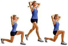 Best Legs and Bum Toning Exercises