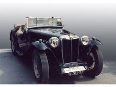 Auto d'epoca: MG TC in vendita