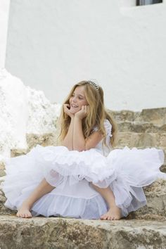 Our First Communion collection will turn every little girl into a princess. Adlib Ibiza Fashion for the youngsters too