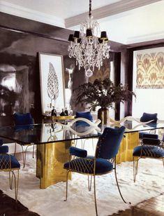 belle maison: Glamorous Elle Decor Home Tour