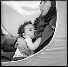 These photos show the sad reality of migrant mothers and their babies living in a refugee camp http://wapo.st/2fbmT3x