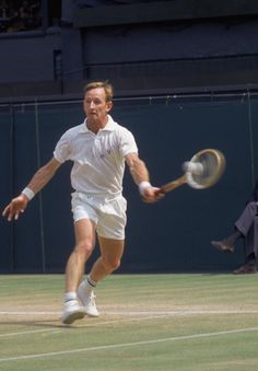 Rod Laver holds the record for most singles titles won in the history of tennis, with 200 career titles. He was ranked World No. 1 for seven consecutive years, from 1964 to 1970 (from 1964 to 1967 in the professional circuit) and also in 1961 and 1962 (by Lance Tingay of The Daily Telegraph). He is the only tennis player, male or female to have won the Grand Slam (all four major singles titles in the same year) twice in 1962 and 1969.