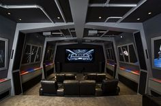 Cool Star Wars home theater!...maybe SOOOOOME day