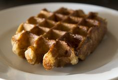 Liège Waffle Recipe / Gaufres de Liège - This is a serious waffle recipe for those who want to graduate from the frozen variety.