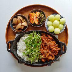 K Food, Food Menu, Food Porn, Dessert Food, Asian Recipes, Real Food Recipes, Healthy Recipes, Healthy Picnic Foods, Healthy Food