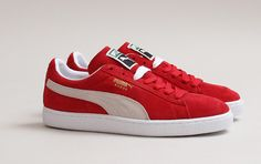 "Puma Suede ""High Risk Red"""