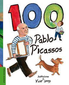 Cuenta hasta 100 Pablo Picassos representados entre las obras del genial artista en la recomendación semanal de la #LibreríaMPM, un libro para niños en el que explorar la vida de Picasso desde su infancia, sus grandes contribuciones al arte moderno, su amor por los animales domésticos y su infinita curiosidad sobre la vida.