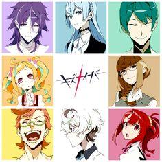 ☆Kiznaiver icons☆