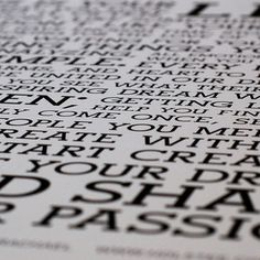 The Holstee Manifesto Poster now featured on Fab.