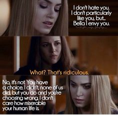 Eclipse ~ Bella and Rosalie Twilight Quotes, Twilight Saga Series, Twilight Cast, Twilight New Moon, Twilight Movie, Rosalie Hale, Rosalie Cullen, Edward Cullen, Cameron Bright