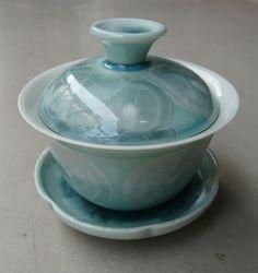 Blue Gaiwan Long Quan Crystallized Celdadon * 120ml - Yunnan Sourcing Pu-erh Tea Shop - Your Ultimate Source for Yunnan Pu'er, Green and Black Tea!