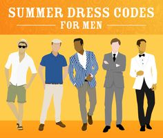 Not sure whether your beach outfit is suitable for an evening out? Which hat is best for summer smart casual? Answer these questions and more with Samuel Windsor's summer dress codes infographic.