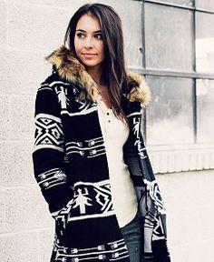 BB Dakota 'Ganado' Jacquard Coat