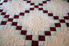 images of irish chain quilt borders | Joanne's Irish Chain3