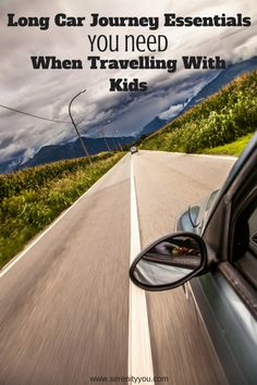 Long car Journey Essentials when Travelling with Kids