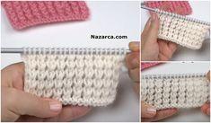 Baby Knitting Patterns, Knitting Stitches, Stitch Patterns, Tunisian Crochet, Straw Bag, Crochet Hats, Michael Kors, Bags, Facebook