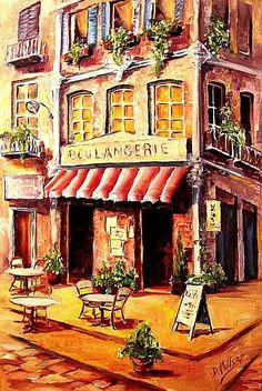 French Cafe | French Cafe - by Diane Millsap from Cityscapes