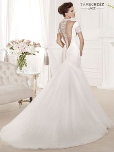 Tarik Ediz Wedding Dresses 2014 Collection #wedding #weddings #wedding_dress #tarikedizwhite