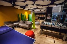 Workplace Solutions chillout room (with Maria Styś)