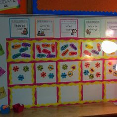 Management Board for Daily 5 (3) Rounds in my 2nd grade classroom.