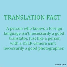 Translation Fact # 2