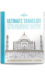 Lonely Planet's Ultimate Travelist Colouring in Book - Lonely Planet Online Shop