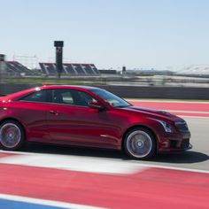 The ATS-V is GM's first real attempt to take on the German sport-sedan kings, chiefly the 425-hp, twin-turbo BMW M3. If you're entering a game of thrones, may as well shoot for the top chair.