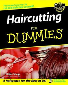 Want to cut hair but think you dont have the talent? If youve ever dreamed of becoming a painter, a sculptor, or a home decorator, you can cut hair. If you love sewing, drawing, or craft projects, you