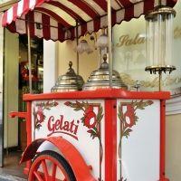 Carrito de helados: una gran idea para una boda