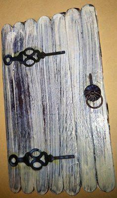 pinterest indoor lolly stick fairy doors - Google Search
