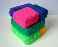 And even more Home Decor....Ravelry: Diabolical Cube pattern by Woolly Thoughts
