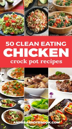 Clean Eating Chicken Crock Pot Recipes