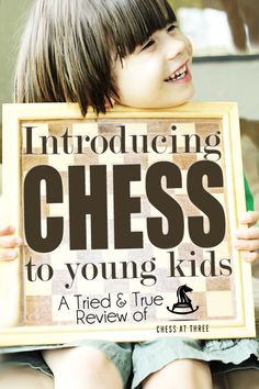 Introducing Chess to young children. I can see Brad and E playing chess in a couple of years. I probably ought to brush up on my skills, too...