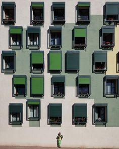 Social housing Urrutia 5 | Joan Callís  Pia Wortham | 2006-08 | Barcelona #Barcelona #architecture #MiMomentoPerfecto #Lumix @lumix_fotografia by stoptheroc