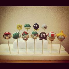 1000 Images About Super Mario Cakes On Pinterest Super
