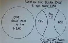 simple bunny cake - Bing Images