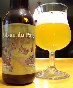 Saison Du Parc - Brasserie Dieu Du Ciel craftbeerquebec.ca