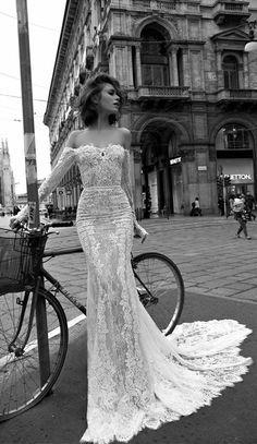 Stunning Wedding Dresses to Love - Liz Martinez - Gorgeous Illusion Mermaid Lace Wedding Dresses
