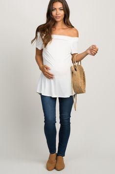 7eb7ea9dcd77d Navy Blue Solid Dark Wash Maternity Denim Jean Stylish Maternity, Maternity  Fashion, Maternity Skinny